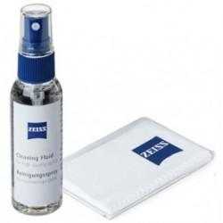 ZEISS - Kit anti-buée - Lunettes et surfaces optiques - Spray 15ml + Microfibre
