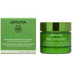 APIVITA - Bee radiant - Gel-baume de nuit - Lissant et revitalisant - 50ml