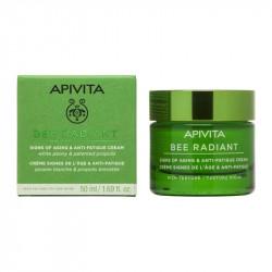 APIVITA - Bee radiant - Crème signes de l'âge - Anti-fatigue - Riche - 50ml