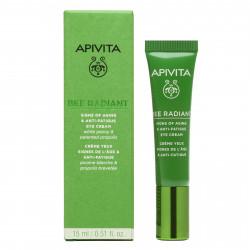 APIVITA - Bee radiant - Crème yeux signes de l'âge - Anti-fatigue - 15ml