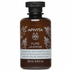 APIVITA - Pure jasmine - Gel douche huiles essentielles - 250ml