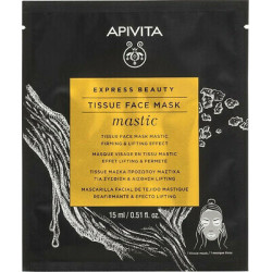 APIVITA - Tissue face mask - Mastic - Effet lifting et fermeté - 15ml