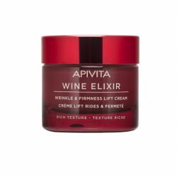 APIVITA - Wine elixir - Crème lift rides et fermeté - Texture riche - 50ml