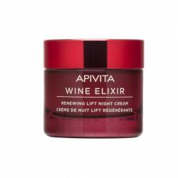 APIVITA - Wine elixir - Crème de nuit lift régénérante - 50ml