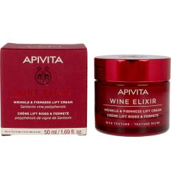 APIVITA - Wine elixir - Crème nuit lift régénérante - Riche - 50ml