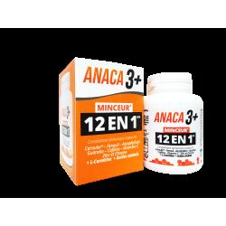 ANACA3+ - Minceur - 12 en 1 - Complément alimentaire - 120 gélules