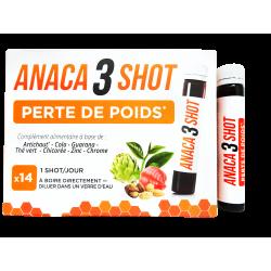 ANACA3 - Shot - Perte de poids - Complément alimentaire - x14