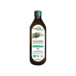 Pharmaphyt aloe vera gel et pulpe bio 1L