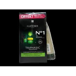 FURTERER - Triphasic - Traitement antichute progressive - 8 flacons - + Shampooing complément offert - 100ml