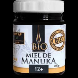 Miel de MANUKA - Bio - +12 - 250g