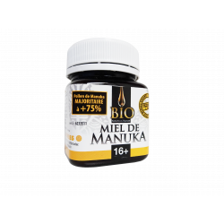 Miel de MANUKA - Bio - 16+ - 125g