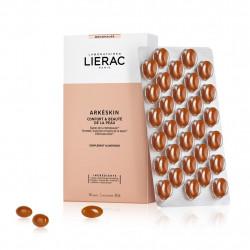 LIERAC - Arkéskin - Confort & beauté et la peau - Complément alimentaire - Ménopause - 60 capsules