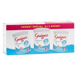 GUIGOZ 3 - 3ème âge - Croissance - 1 à 3 ans - Pack de 3x800G