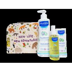 MUSTELA - Ma valise de naissance - 3 soins détente