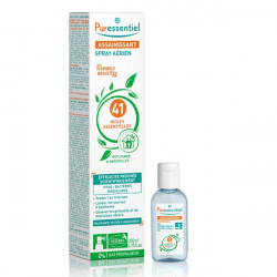 Puressentiel Spray Assainissant 200 ml + 1 Gel Antibactérien Offert