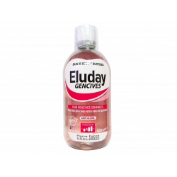 ELUDAY - Gencives - Soin gencives sensibles - 500ml