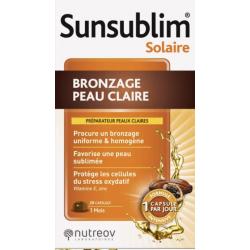 Nutreov - Sunsublim Solaire Peau Claire