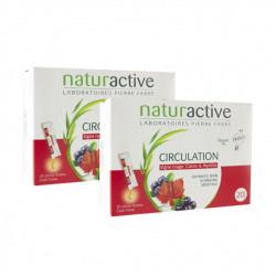 Naturactive circulation 2 x 20 sticks fluides