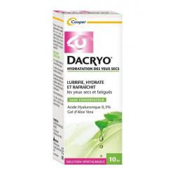 Cooper dacryo hydratation des yeux secs 10ml