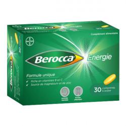 Bayer berocca énergie 30 comprimés à avaler