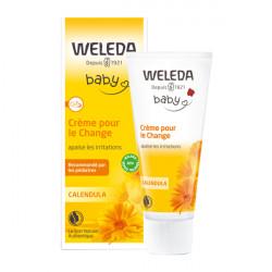 WELEDA - Bébé - Crème pour le change - Calendula - Sans parfum - 75ml