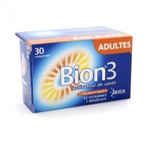 BION 3 - DEFENSE - Vitamine D et zinc - Maintien des défenses naturelles - 30 comprimés