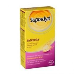 SUPRADYN - Intensia - Vitamines et Minéraux - Coenzyme Q10 et fer - 30 comprimés effervescents