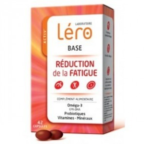 LÉRO - Base - Réduction de la Fatigue - 42 comprimés