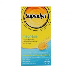 SUPRADYN - Magnésia - 30 comprimés effervescents