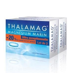 THALAMAG - Magnésium Marin - 2x30 gélules