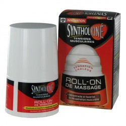 SYNTHOLKINÉ - Roll-on de massage - Massage musculaire aux 5 huiles essentielles - 50ML