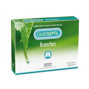 OLIOSEPTIL - Bronches - Complexe d'huiles essentielles - 15 gélules