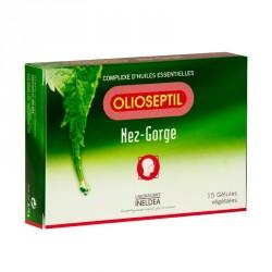 OLIOSEPTIL - Nez et gorge - 15 gélules