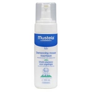 MUSTELA - Shampoing Mousse Nourrisson - 150 ml