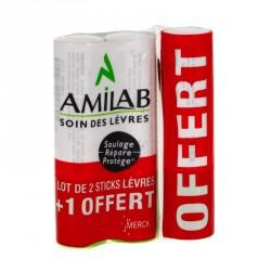 AMILAB - Baume à Lèvres - 3x3,6ml