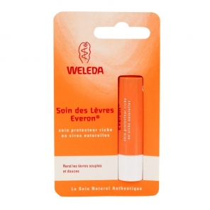 WELEDA - Soin des Lèvres Everon - Soin Protecteur Riche en Cires Naturelles - 4.8g