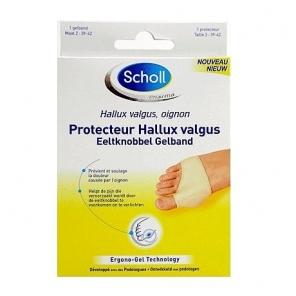 SCHOLL - Protecteur Hallux Valgus Taille 2 - Pointure 39-42 - 1 protecteur