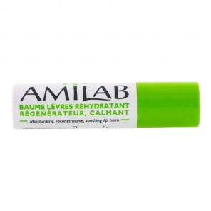 AMILAB - Baume à Lèvres Réhydatrant Régénérateur et Calmant - 3,6ml