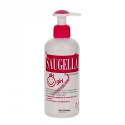 SAUGELLA - Girl - Émulsion lavante douce pour l'hygiène intime - De 3 ans à la puberté - 200ml