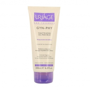 URIAGE - Gyn-phy - Toilette intime - Gel fraîcheur - Muqueuses sensibles - 200ml