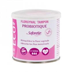 SAFORELLE - Florgynal tampon - Probiotique - Normal - 22 tampons