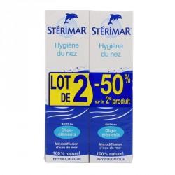 STÉRIMAR - Hygiène du Nez - Microdiffusion d'eau de mer - 2 x 100ml