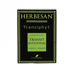 HERBESAN - Transiphyt - À la rhubarbe qui contribue au transit intestinal - 90 comprimés