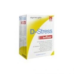 SYNERGIA - D-STRESS Booster - Gérez le stress et boostez votre énergie ! - 20 sachets