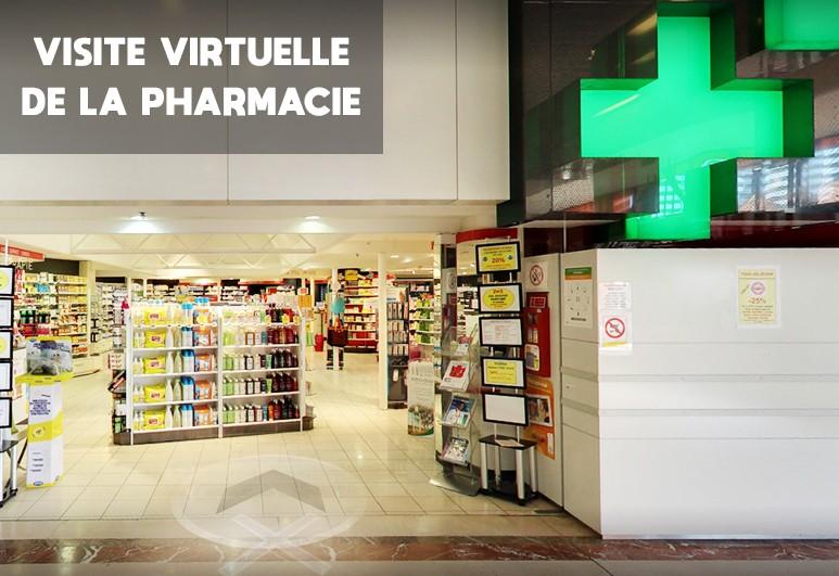 Visite virtuelle de la pharmacie